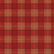 Lewis & Irene - Celtic Coorie - 6779 - Check in Red & Burnt Orange - A416.1 - Cotton Fabric